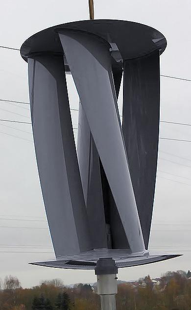Windturbine helix